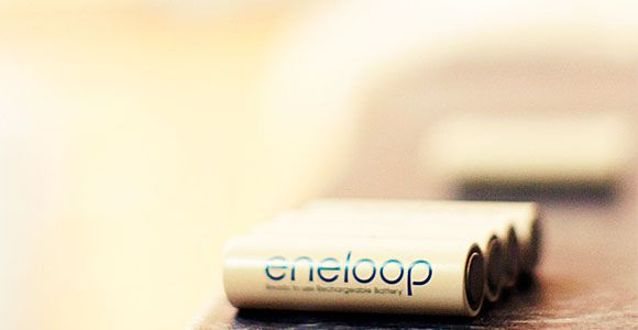 ONE BATTERY TO RULE THEM ALL:  Sanyo's Eneloop