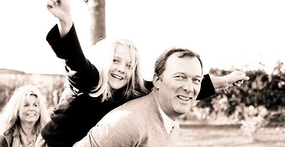 Christmas Family Portraits:  The Thompson and McQuitty Family